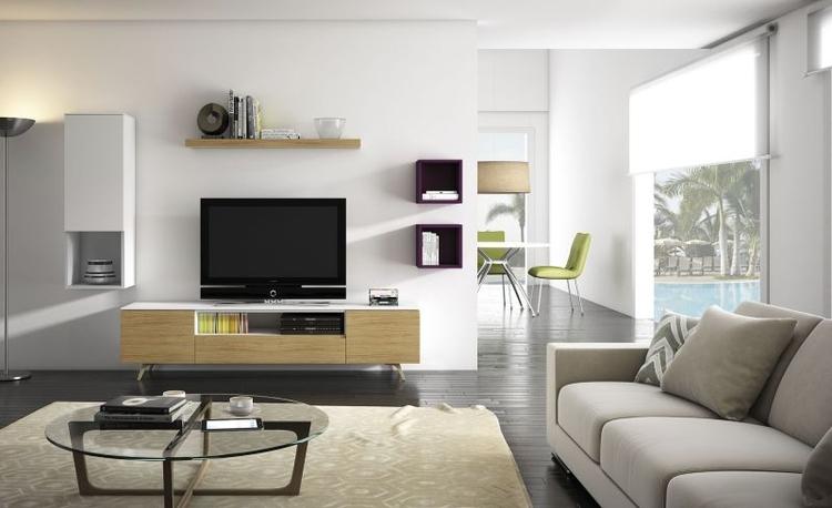los mejores muebles y complementos para un salon minimalista