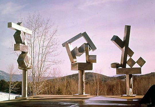 escultura minimalista de David Smith