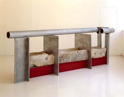 Escultura minimalista de Anthony Caro