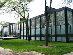 El cristal predomina en la arquitectura minimalista