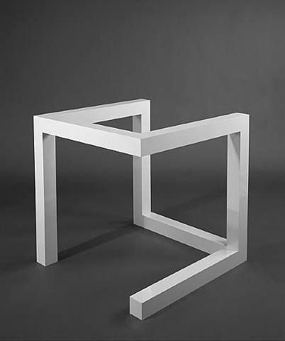 Escultura minimalistas de Sol Lewitt