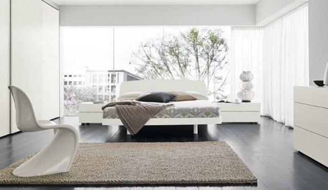 muebles minimalistas sin tirador y a poder ser blancos
