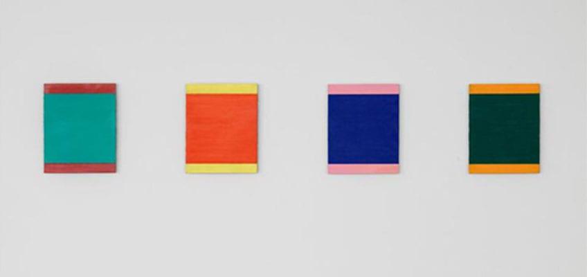 la pintura minimalista más destacada de Blinky Palermo