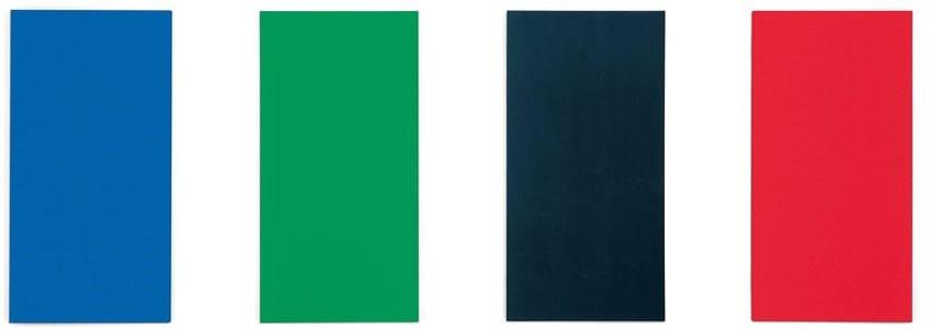 La pintura minimalista más destacada de Ellsworth Kelly