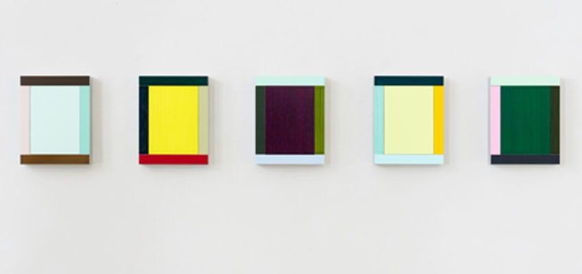 El cuadro minimalista más importante de la obra de Imi Knoebel