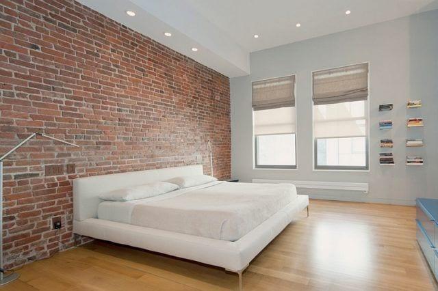 reduce al máximo los muebles del dormitorio para dar un toque minimalista