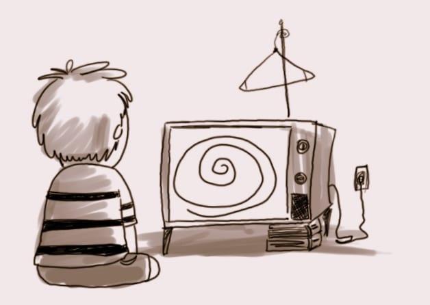 la televisión es un enemigo del minimalismo, pues nos crea falsas necesidades