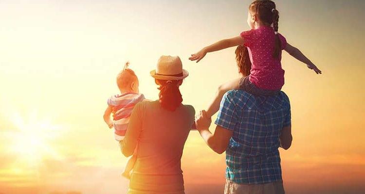 los viajes en familia deben de ser livianos de equipaje para fomentar el minimalismo en la familia